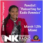 Jaime Invited as a Panelist for the 2019 Hispanic Radio Conference