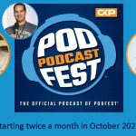 Producer Jaime to Team Up with Glenn the Geek to Co-host the Official Podfest Podcast!